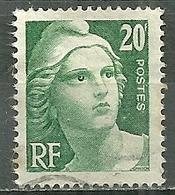 FRANCE Oblitéré 728 Marianne De Gandon - Oblitérés