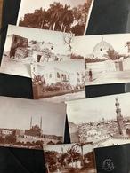 Kairo Ägypten/ Lot 7 Old Photos Ca.1910 - Lugares