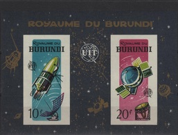 AST 10 - BURUNDI BF 7non-dentelé  Neuf** Thème Cosmos - Burundi