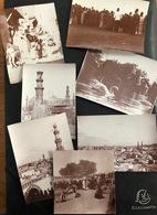 Kairo Ägypten/Lot 7 Old Photos Ca. 1910 - Lugares