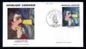 GABON A 205 Fdc Gauguin , Auto-portrait à L'idole - Non Classés