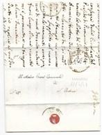REPUBBLICA ROMANA - DA MONDAVIO A S.ANDREA - 12.4.1849. - ...-1850 Voorfilatelie