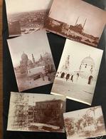 Kairo Ägypten/ Lot Of 6 Old Photos Ca. 1910 - Lugares