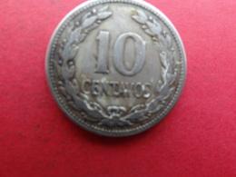El Salvador  10 Centavos , 1921  Km 130 - Salvador