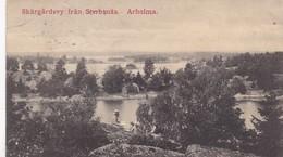 ARHOLMA / SKARGARDSVY FRAN STERBSNAS / RARE - Suède