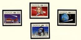 Samoa 1986 Y&T N°603 à 606 - Michel N°586 à 589 *** - Comète De Halley - Samoa
