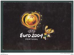 EURO 2004 SOCCER FOOTBALL FUTEBOL Futbol Calcio UEFA ADVERTISING PORTUGUESE ( 2 SCANS ) - Soccer