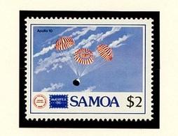Samoa 1986 Y&T N°615 - Michel N°598 *** - 2d Retour D'Apollo X - Samoa