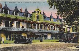 CPA - édit. LEVY & NEURDEIN - 129 - MANTES-LA-JOLIE - Hôtel Du Grand Cerf - Mantes La Jolie