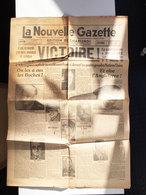 8 Mai 1945  Nouvelle Gazette - 1939-45