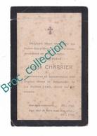 Les Touches, 44, Mémento De Joseph Charrier, 14/07/1910, 62 Ans, Souvenir Mortuaire, Décès, Deuil - Images Religieuses