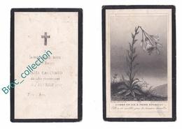 Mémento De Maria Cauchard, 5/02/1897, Enfant, Souvenir Mortuaire à Localiser, Décès, Deuil - Images Religieuses