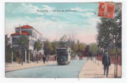 SCEAUX - La Rue De Fontenay (carte Animée) - Sceaux