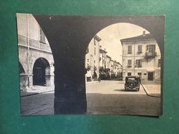 Cartolina Busca - Piazza XX Settembre - 1920 Ca. - Cuneo
