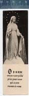 MARIE CONÇUE SANS PÉCHÉ.....(N° 24 Photo Véritable) BOEKENLEGGER BLADWIJZER MARQUE-PAGES - Godsdienst & Esoterisme