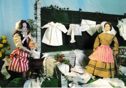 PRINCIPAUTE DE MONACO MUSEE NATIONAL POUPEES ET AUTOMATES D'AUTREFOIS ,LAVANDIERES ,COULEUR  REF 62838 - Jeux Et Jouets