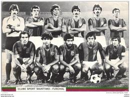 MADEIRA - CLUBE SPORT MARITIMO FUNCHAL - FUTEBOL CALCIO SOCCER  FOOTBALL FÚTBOL PORTUGAL (2 SCANS) - Soccer