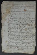 Liasse De Manuscrits Du XIXe Siècle - Eure - Saint-Aubin De Scellon - Protagonistes L.-A. Et M.-A. Leclerc - Manuscrits
