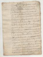 Loire 1745 Chuyer St Michel - Manuscrits