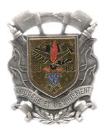 Ancien Insigne Du SSIS  BA 103 - Pompiers