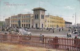 4812250Cairo, Station De Chemin De Fer Au Caire. – 1912. (see Corners) - Cairo