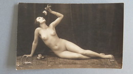 PHOTOGRAPHIE J.MANDEL NUE FÉMININ - Nus Adultes (< 1960)