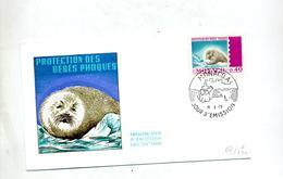 Lettre Fdc  1970 Bebe Phoque - FDC