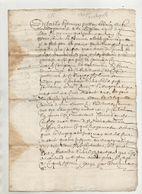 Loire 1665 Chuyer - Manuscripts