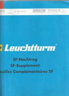 France Feuilles Leuchtturm Pré-imprimé Avec Pochettes Mini-feuiles 2013 - Albums & Reliures