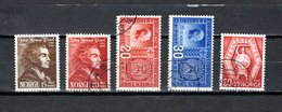 Noruega  1942-43  .-   Y&T  Nº      242/243-244/245-253 - Noorwegen