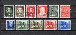 Noruega  1944-46  .-   Y&T  Nº      273/275-276-277/278-279-280/283 - Used Stamps