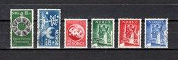 Noruega  1949  .-   Y&T  Nº      314/316-317/319 - Used Stamps