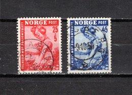 Noruega  1950  .-   Y&T  Nº      320/321 - Gebraucht