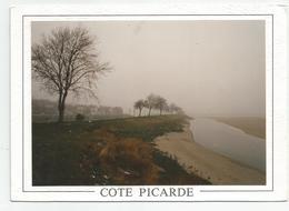 """Photographie Picardie  Collée Sur Carte Postale """" Images De La Cote Picarde"""" Photo 9x12,6 Cm - Afrique"""