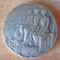France - Médaille Mutualité En Argent - Assurance C.M. - S.M.S. LYON - Signée Legastelois - Professionnels / De Société