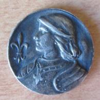 France - Médaille Jeanne D'Arc, Née à Domremy 1414 En Argent - Professionnels / De Société
