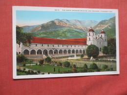 California > Santa Barbara  Mission     >ref  3878 - Santa Barbara