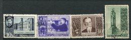 RUSSIE -  Yv N° 800 à 803    (o)  Timiriasev   Cote  4  Euro  BE  2 Scans - 1923-1991 URSS