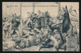 HAELEN PRISE D'UNE BATTERIE ALLEMANDE PAR LES BELGES - Oorlog 1914-18