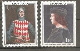 Monaco  1967 YT N°734/735  Neuf** - Mónaco