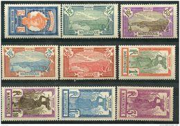Martinique (1927) N 120 à 128 * (charniere) - Martinique (1886-1947)