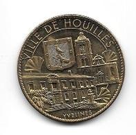 Médaille Touristique  2010  Ville, VILLE  DE  HOUILLES, YVELINES  ( 78 ) Recto  Verso - Arthus Bertrand