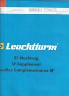 France Feuilles Leuchtturm Pré-imprimé Avec Pochettes - Bloc Souvenir 2013 Ref 346 159 - Albums & Reliures