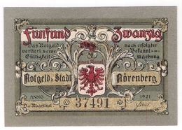 Deutschland Notgeld 25 Pfennig Mehl979 NORENBERG /74M/ - Lokale Ausgaben