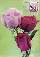 51522 NEW ZEALAND , Maximum  1976 , Rose  Rose  Sterling Silver - Roses