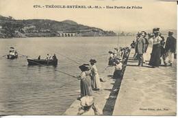 THEOULE UNE PARTIE DE PECHE - Frankreich