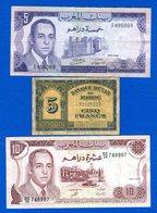 Maroc 3 Billets - Maroc