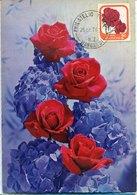 51523 New Zealand  Maximum  1976 , Rose  Rose  Marlene - Roses