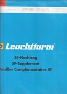France Feuilles Leuchtturm Pré-imprimé Avec Pochettes Bloc Souvenir - 2010 Ref 340 741 - Albums & Reliures