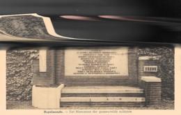 RUPELMONDE  - HET MONUMENT DER GESNEUVELDE SOLDATEN - Belgique